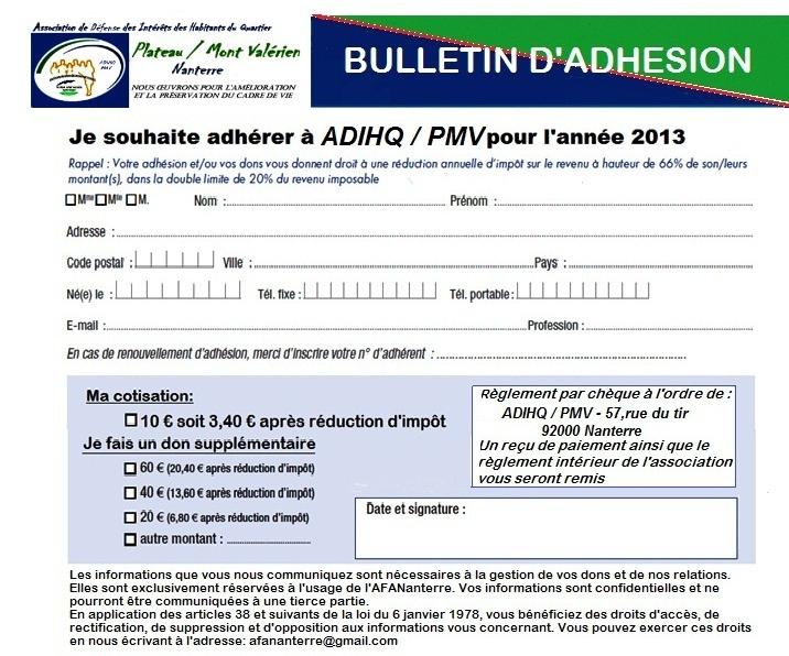 Lettre d'information « La Valérienne » N°11 – Avril 2013 sans-titre